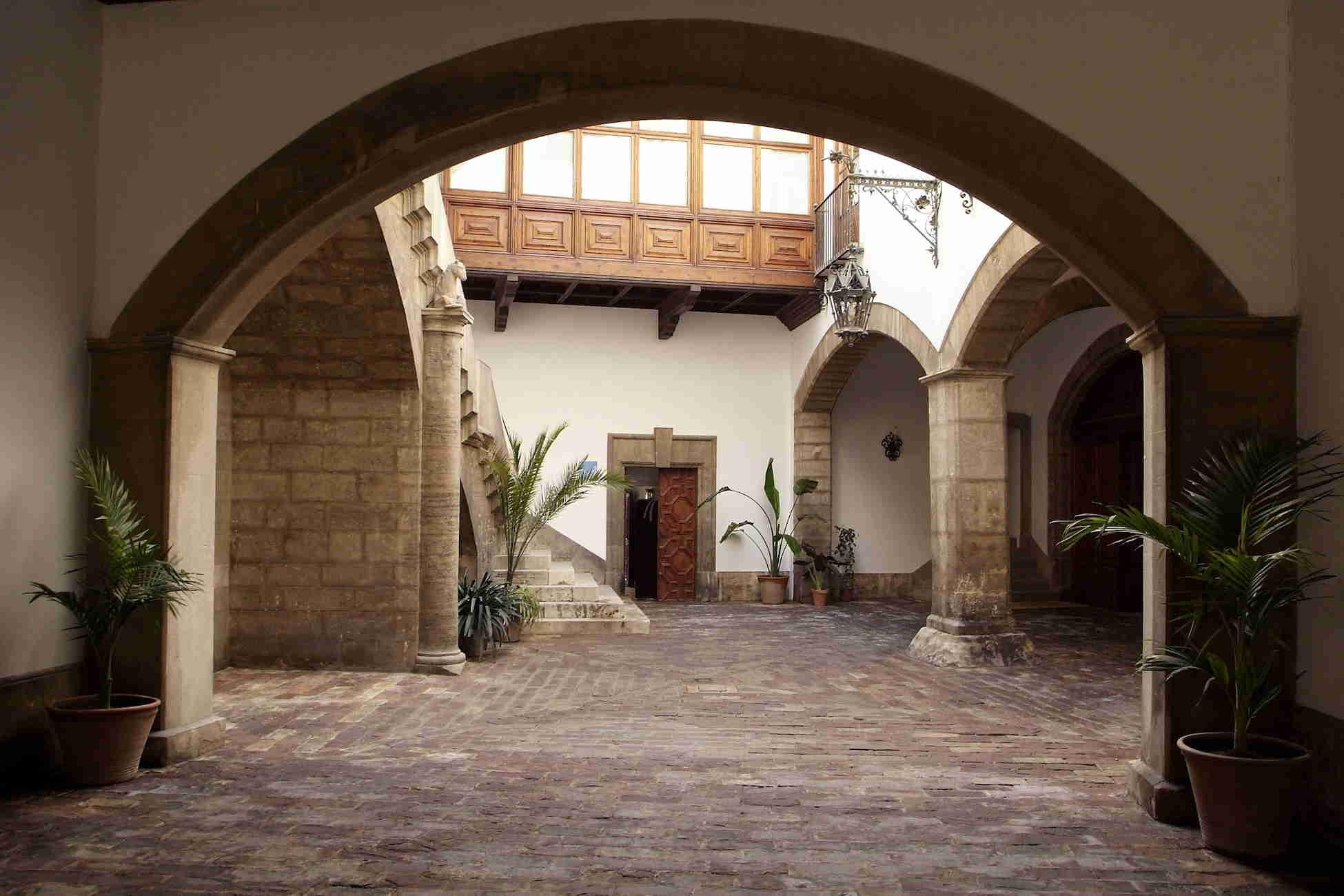 Patio del Museo L'Iber